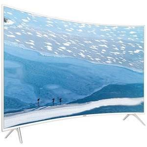 Televizor Samsung LED Smart TV Curbat UE49 KU6510 Ultra HD 4K 124cm White
