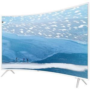 Televizor Samsung LED Smart TV Curbat UE55 KU6510 Ultra HD 4K 139cm White