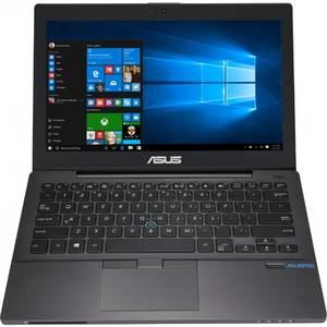 Laptop Asus PRO B8230UA-GH0050R 12.5 inch Full HD Intel Core i7-6500U 8GB DDR4 256GB SSD FPR 4G Windows 10 Pro Dark Grey