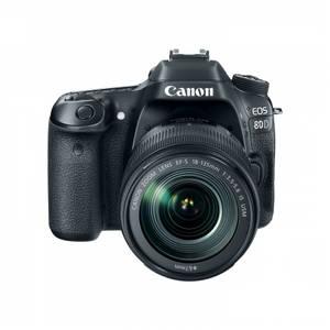 Aparat foto DSLR Canon EOS 80D kit EF-S 18-135 IS Nano USM