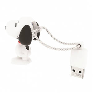 Memorie USB Emtec Snoopy PN100 8GB USB 2.0 White