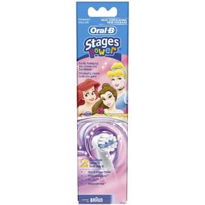 Rezerva periuta electrica pentru copii Oral-B Stages power EB10-2 2buc fetite