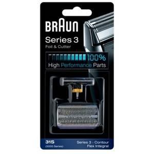 Rezerva pentru aparat de ras Braun 31S Seria 3 360, 370, 390