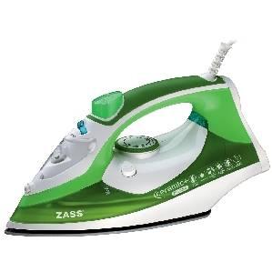 Fier de calcat Zass A15 2200W 360 ml verde / alb