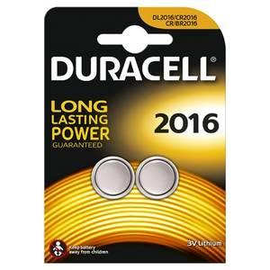 Baterie DURACELL specialitati lithiu 2*2016 Argintiu