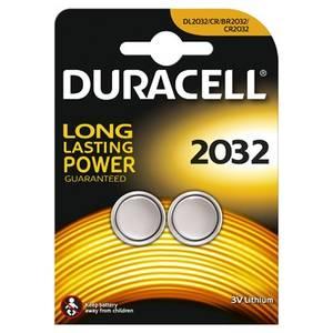 Baterie Duracell specialitati lithiu 2*2032 Argintiu