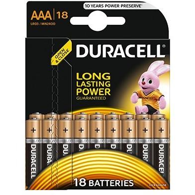Baterie Basic AAA LR03 18buc Negru thumbnail