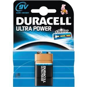 Baterie DURACELL Ultra power 9V 1buc Negru