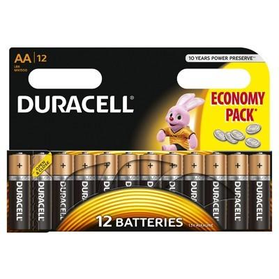 Baterie Basic AA LR06 12buc Negru thumbnail