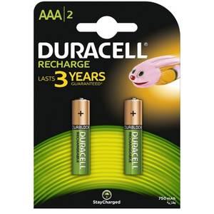 Acumulatori DURACELL AAAK2 750mAh 2buc Verde