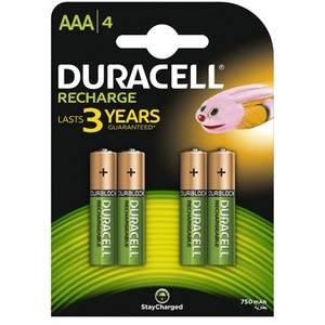 Acumulatori Duracell AAAK4 750mAh 4buc Verde