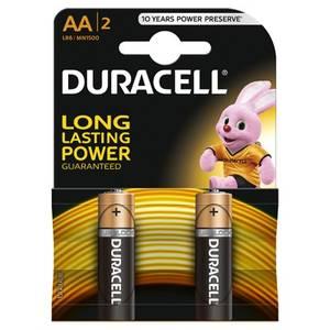 Baterie DURACELL Basic AA LR06 2buc Negru