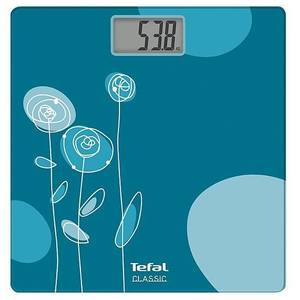 Cantar corporal Tefal PP1115V0 Drawing Bloom Turquoise 160 kg