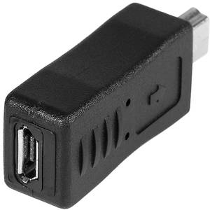 Adaptor Tracer mini USB la microUSB negru
