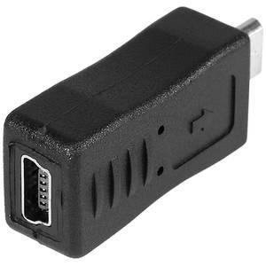 Adaptor Tracer micro USB la mini USB negru