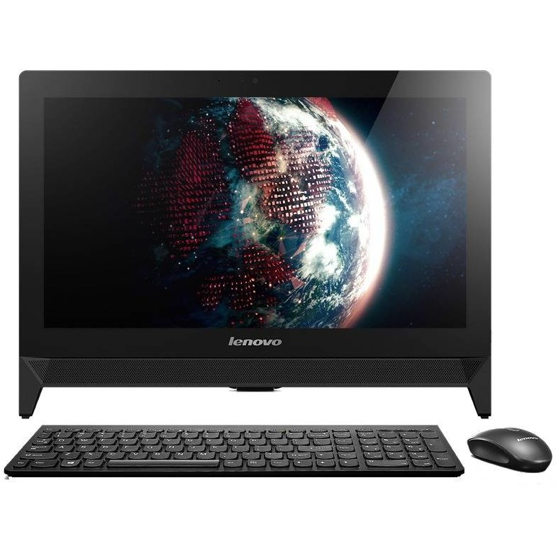 Sistem All In One Ideacentre C20 19.5 Inch Full Hd Intel Celeron J3160 4gb Ddr3 500gb Hdd Black