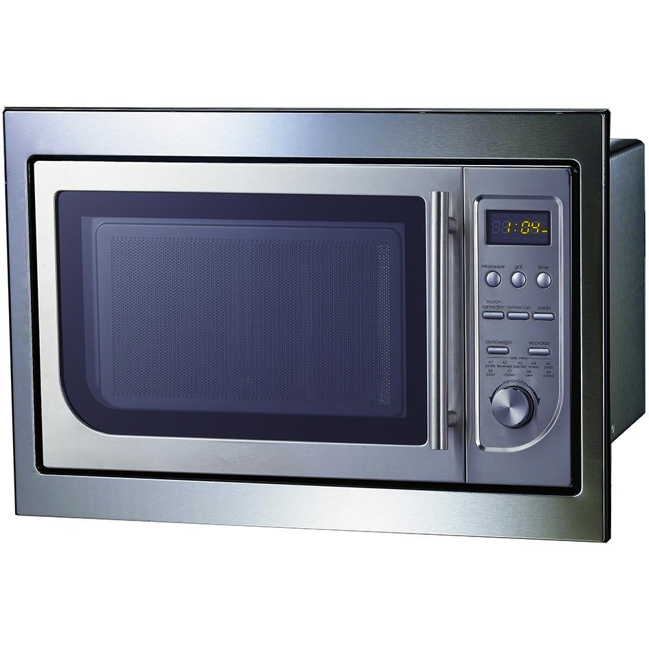 Cuptor cu microunde incorporabil MWO 26 INOX 900W 23 Litri 14 functii INOX thumbnail