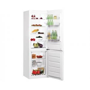 Combina frigorifica Indesit LR8 S1 W 339 Litri Static A+ Alb