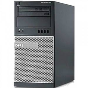 Desktop PC refurbished Dell OptiPlex 790 i5-2400 Generatia 2 3.1GHz 4GB DDR3 250GB HDD Sata RW Tower Soft Preinstalat Windows 10 Professional
