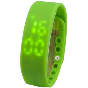 Bratara Fitness Star City W2 Bluetooth Green