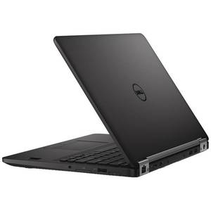Laptop Dell Latitude E7270 12.5 inch Full HD Intel Core i7-6600U 8GB DDR4 256GB SSD FPR Windows 10 Pro Black