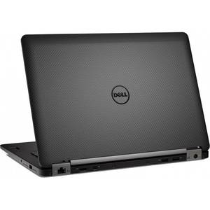 Laptop Dell Latitude E7470 14 inch Full HD Intel Core i7-6600U 8GB DDR4 256GB SSD FPR Windows 10 Pro Black