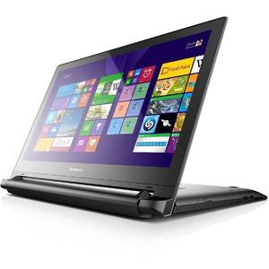 Laptop Lenovo Flex 2 15D 15.6 inch HD Multitouch AMD A6-6310 Quad-Core 1.80GHz 4GB DDR3 500GB HDD Windows 8.1 Black Renew