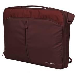 Geanta laptop Continent CC-02 Simple Classic v.2 15 - 16 inch cranberry