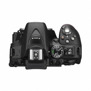 Aparat foto DSLR Nikon D5300 24.7 Mpx Kit AF-P 18-55mm VR si 55-200mm VR II Black