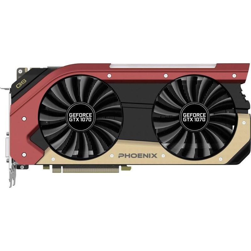 Placa Video Nvidia Geforce Gtx 1070 Phoenix Gs 8gb