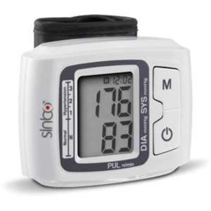 Tensiometru Sinbo SBP-4608 pentru incheietura alb