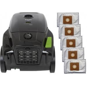 Pachet aspirator Zass ZVC 11 cu 5 saci negru