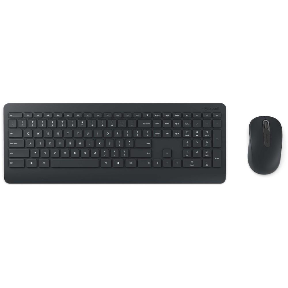 Kit tastatura si mouse Wireless Desktop 900 negru thumbnail