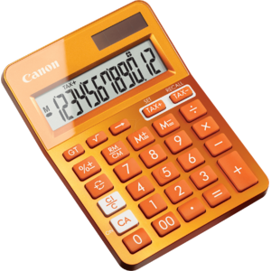 Calculator de birou Canon LS-123K-MOR EMEA DBL Orange