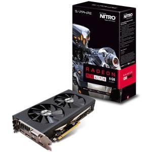 Placa video Sapphire AMD Radeon RX 470 NITRO+ OC 8GB DDR5 256bit Lite