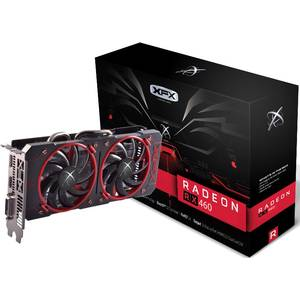 Placa video XFX AMD Radeon RX 460 Double Dissipation 4GB DDR5 128bit