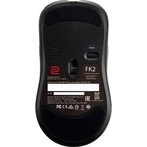 Mouse gaming Zowie FK2 black