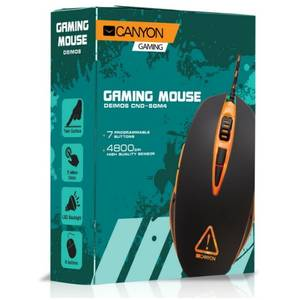 Mouse gaming Canyon CND-SGM4N Deimos black