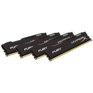 Memorie Kingston HyperX Fury Black 64GB DDR4 2133 MHz CL14 Quad Channel Kit