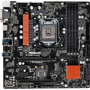 Placa de baza Asrock B150M PRO4V Intel LGA1151 mATX
