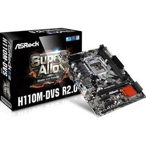 Placa de baza Asrock H110M-DVS R2.0 Intel LGA1151 mATX