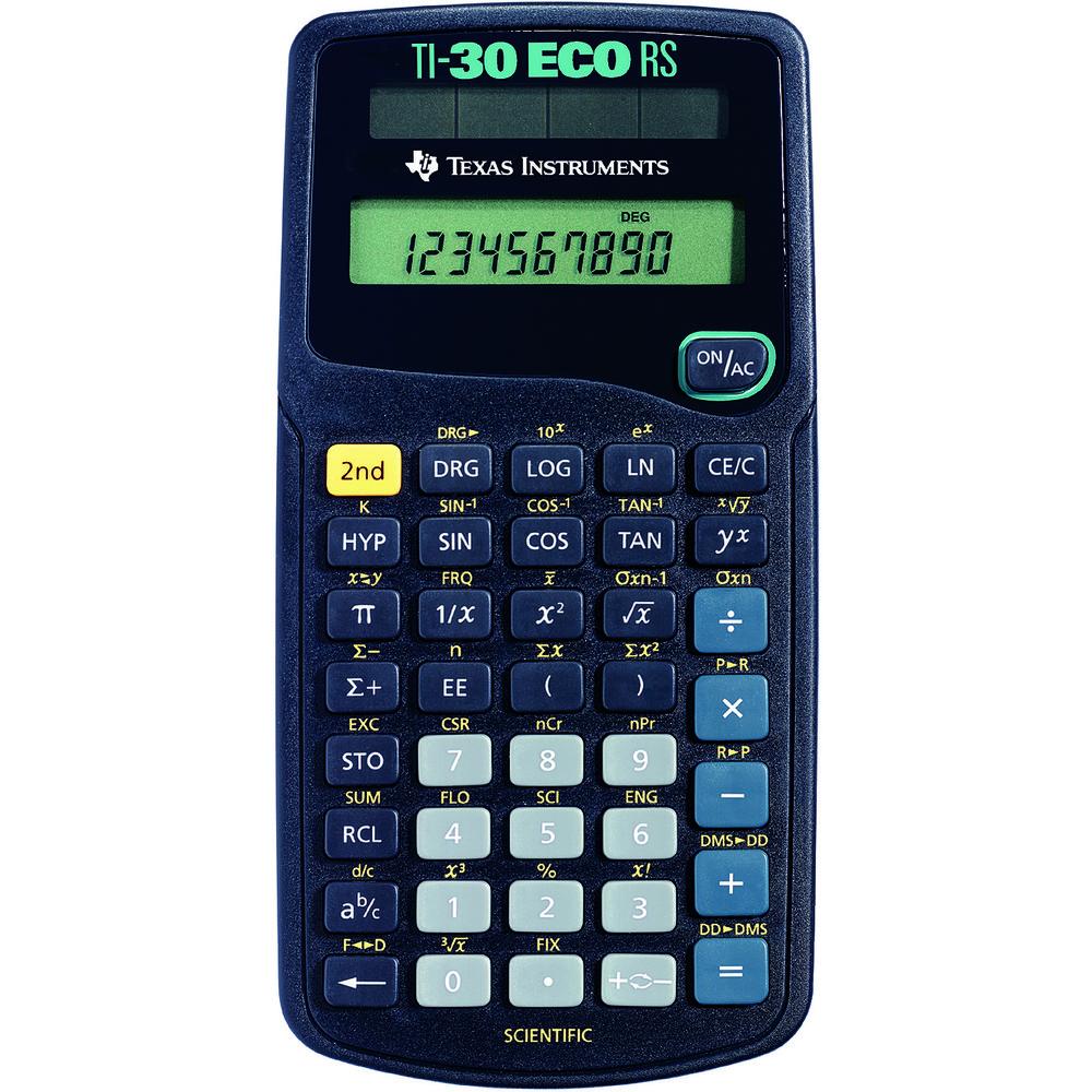 Calculator de birou SCIENTIFIC TI-30ecoRS thumbnail