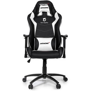 Scaun gaming AKRacing Team Dignitas Edition Max White