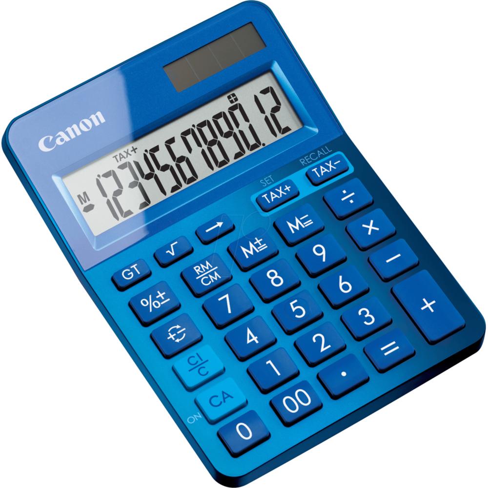 Calculator de birou LS123KBL 12 DIGITS Blue thumbnail