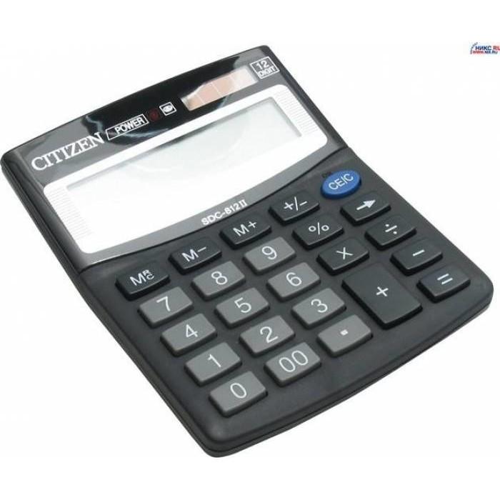 Calculator de birou SDC812BII Black thumbnail