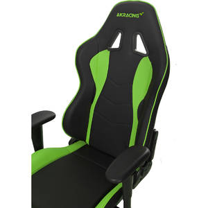 Scaun gaming AKRacing Nitro Green