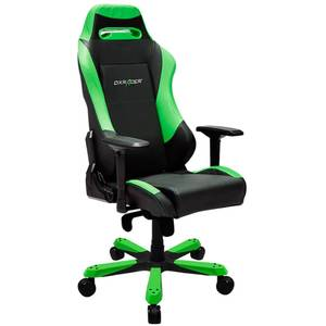 Scaun gaming DXRacer OH/IS11/NE Iron Black / Green