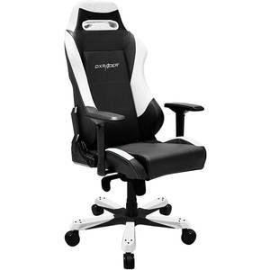Scaun gaming DXRacer OH/IS11/NW Iron Black / White