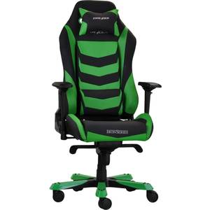 Scaun gaming DXRacer OH/IS66/NE Iron Black / Green
