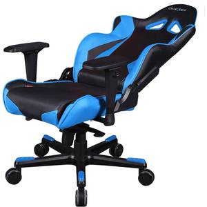 Scaun gaming DXRacer OH/RJ001/NB Racing Black / Blue